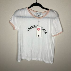 NEW champagneover short sleeve tee